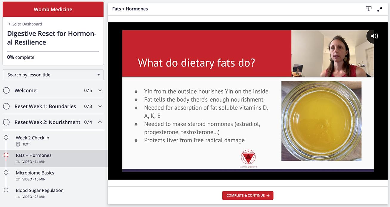 Digestive Reset Video